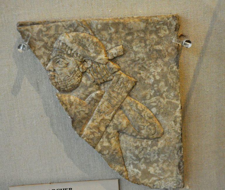 Эламский лучник. 668-627 гг. до н.э.