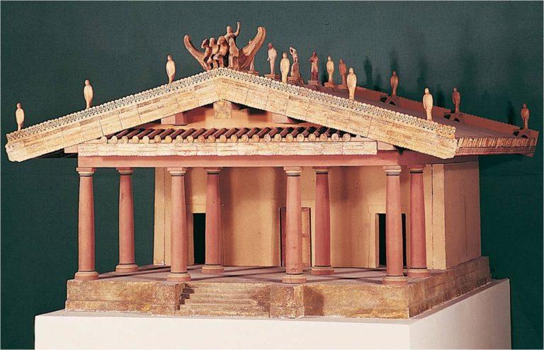 Этрусский храм Минервы
