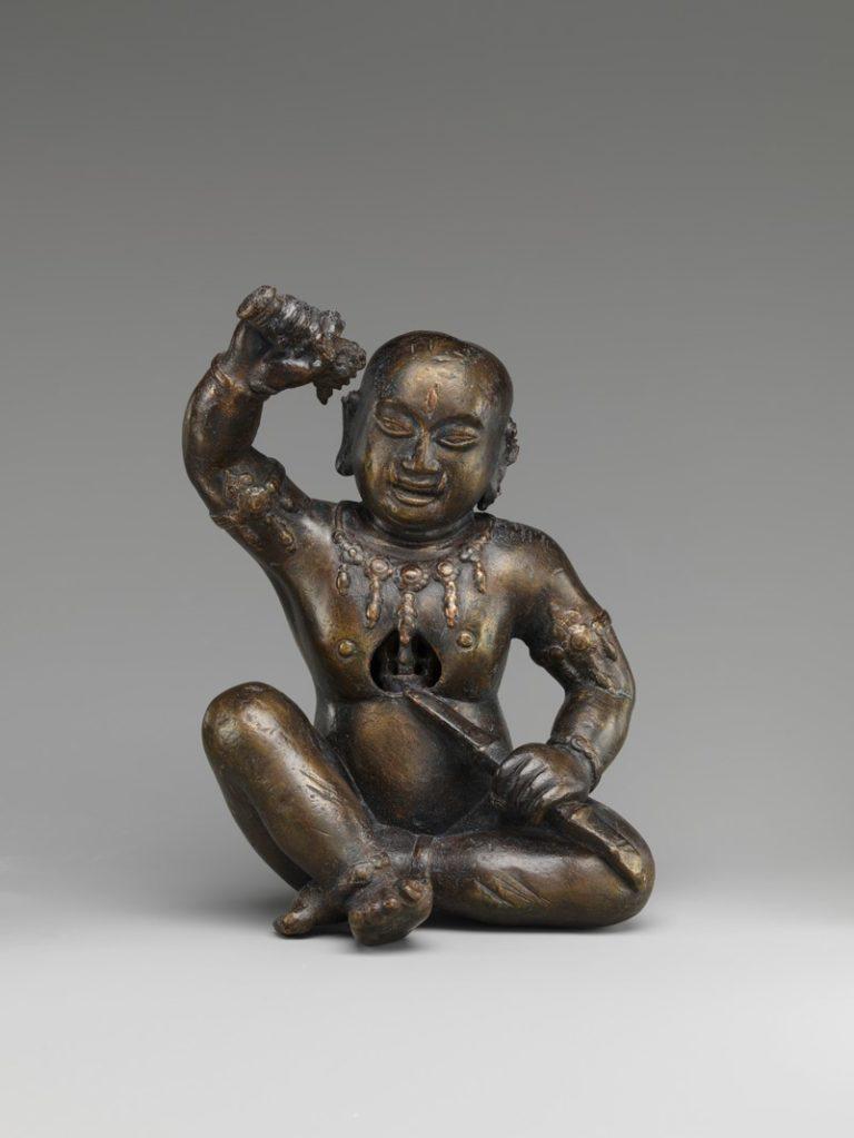Эзотерический буддийский персонаж. Непал, XV в.