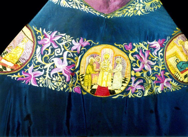 Фелонь священномученика Димитрия Клепинина