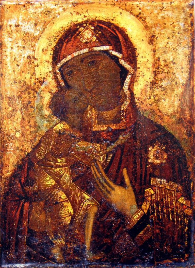 Феодоровская икона Божией Матери. Предпол. XIII в.