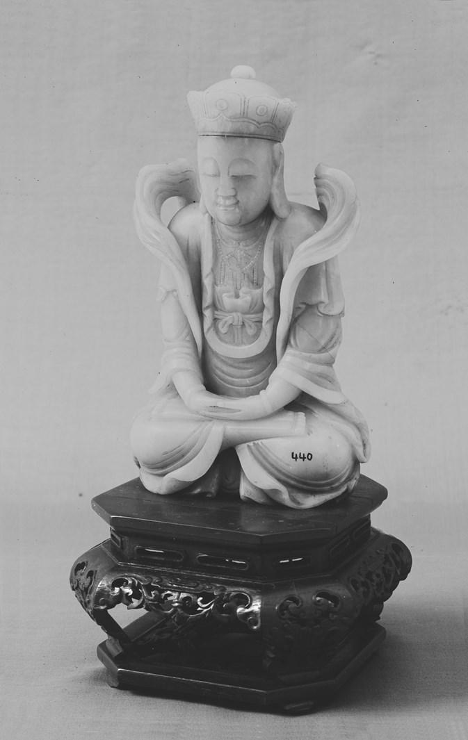 Фигура бодхисаттвы. Китай, 1662–1722