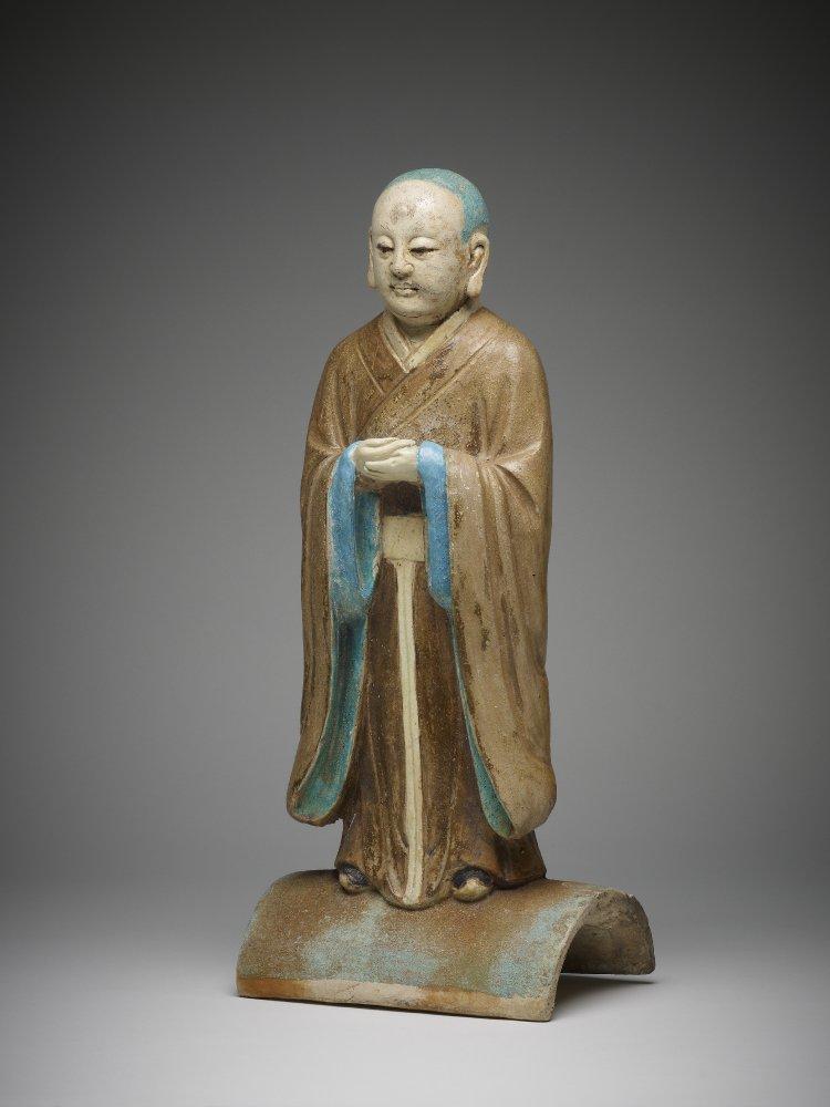 Фигура буддийского монаха. 1490–1620 гг. Китай