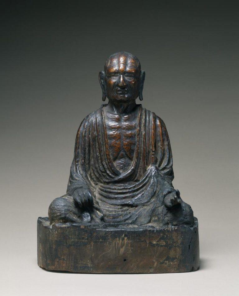 Фигура монаха. Япония, 1347 г.