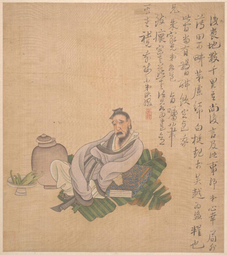 Фигуры, цветы и пейзажи. Китай, 1627