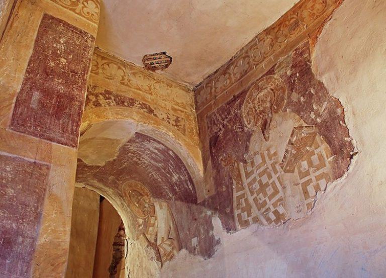 Фрагменты росписи. 1378 г.