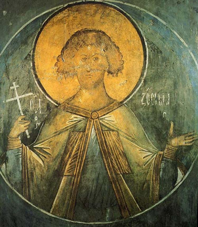 Фреска Успенского собора на Городке