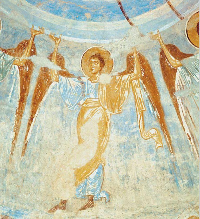 Фрески купола Георгиевской церкви. XII в.