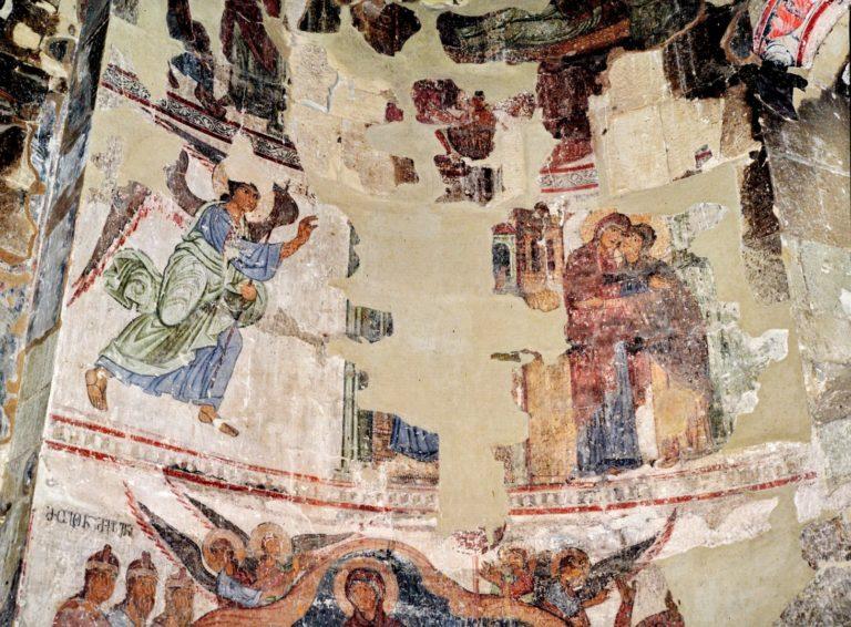 Фрески монастыря Сиони в селе Атени (Атенский Сион). XII в.