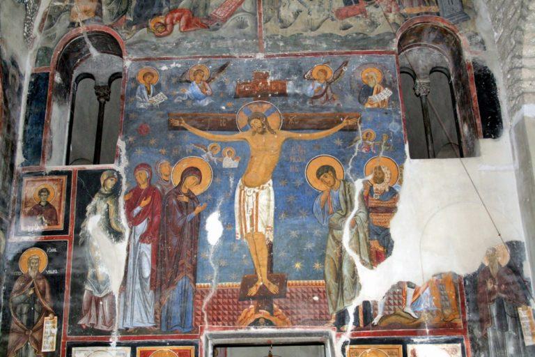 Фрески монастыря Студеница. XII в.