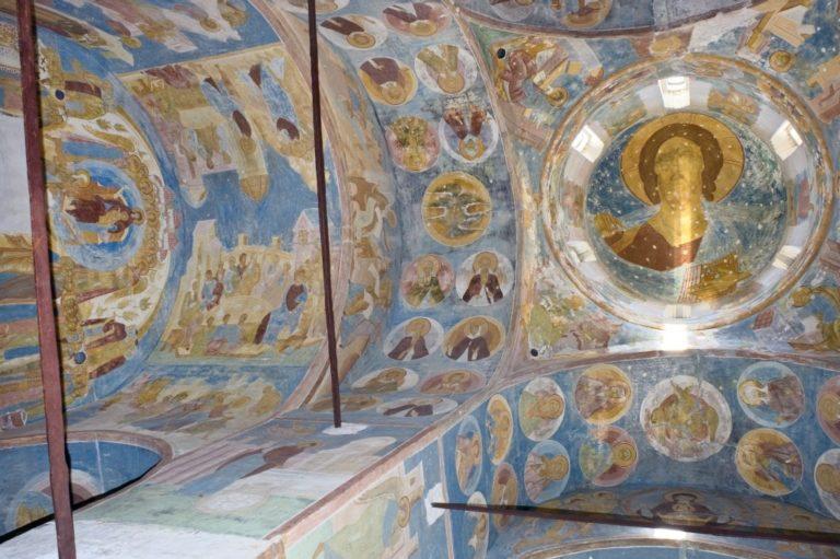 Фрески сводов. 1502