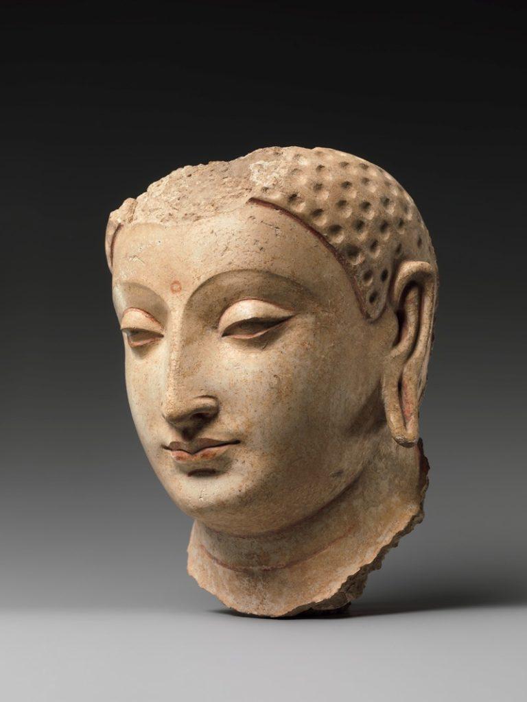 Голова Будды. Афганистан, V–VI вв.