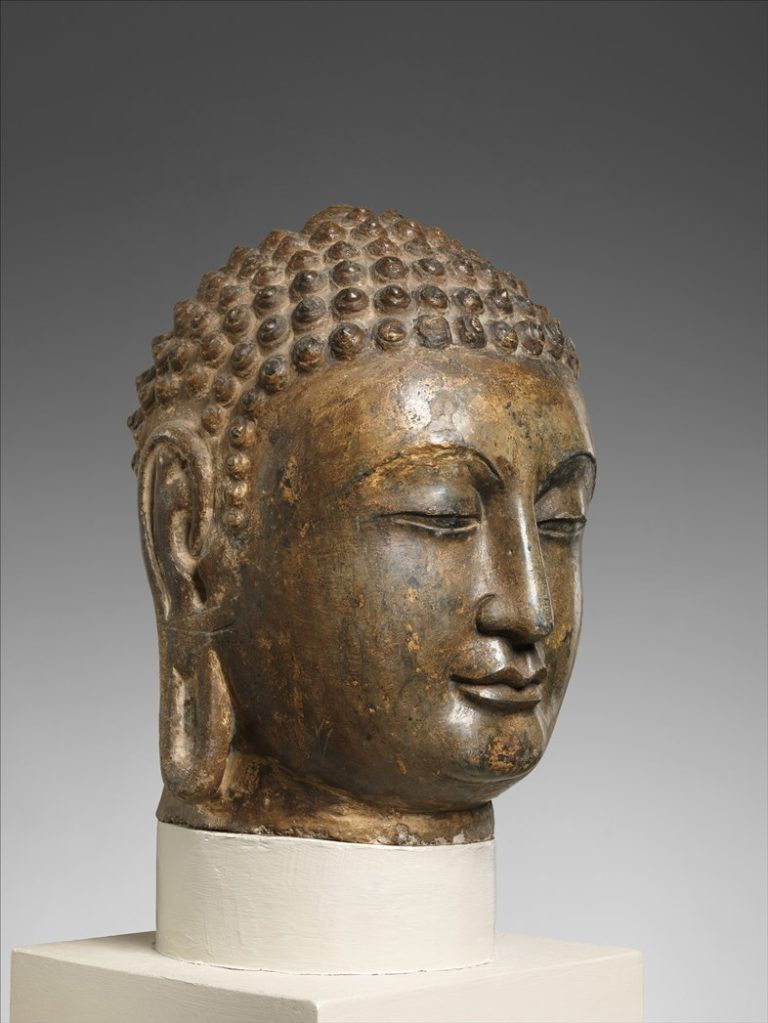 Голова Будды. Китай, VI в.