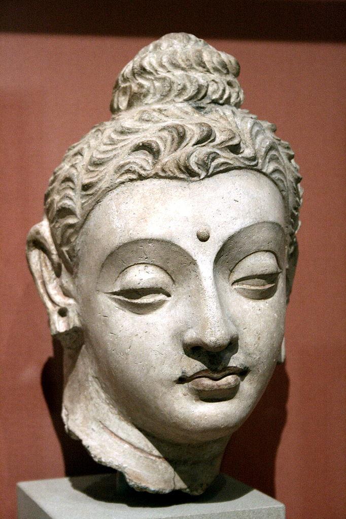 Голова Будды. V в.
