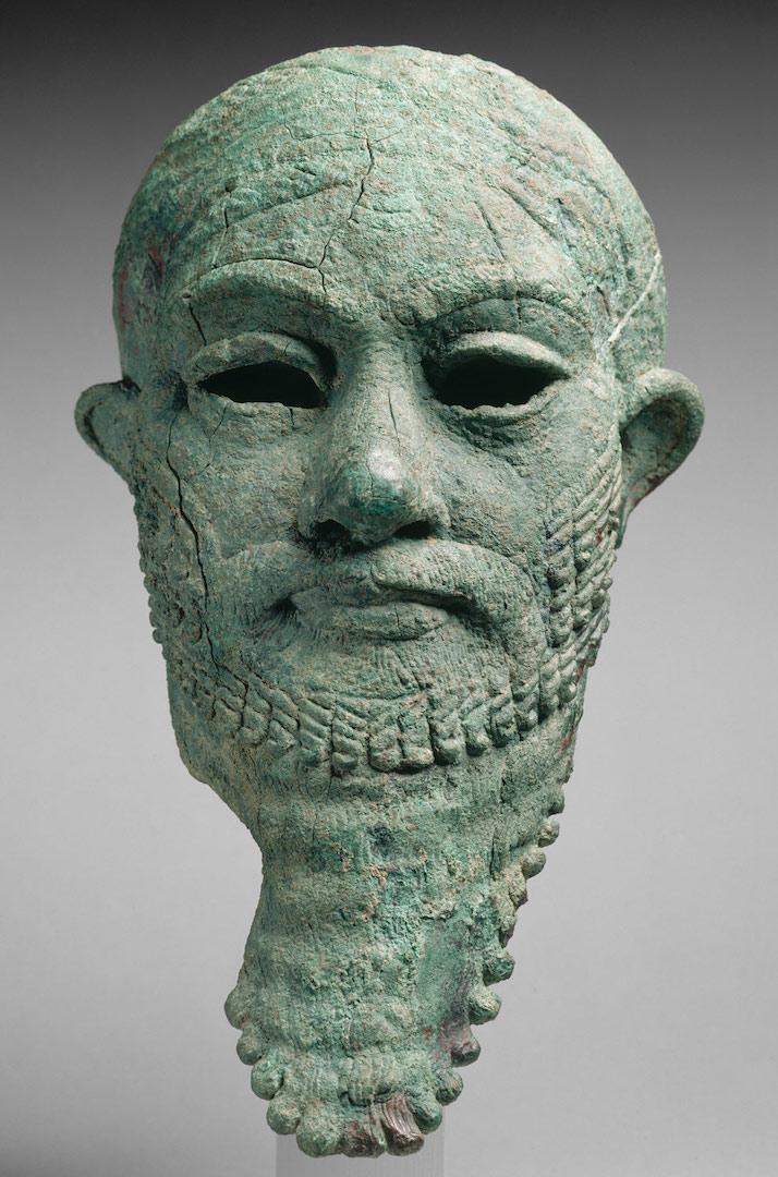 Голова эламита. 2 половина II тыс. до н.э.