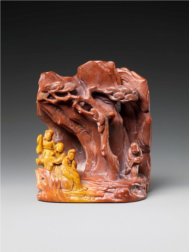 Гора с фигурами женщин. Китай, XVIII–XIX вв.