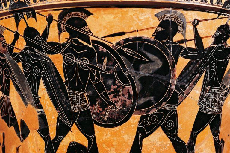 Греческие воины. VI в. до н.э.