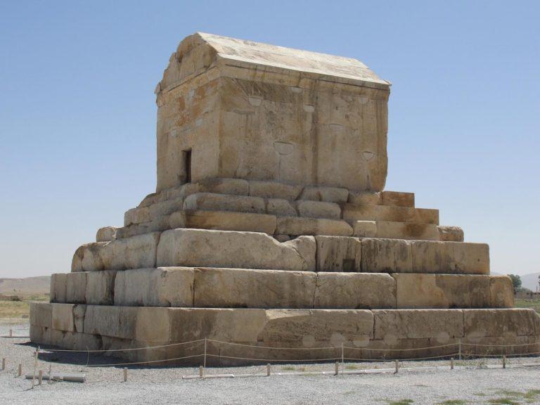 Гробница Кира. Пасаргады