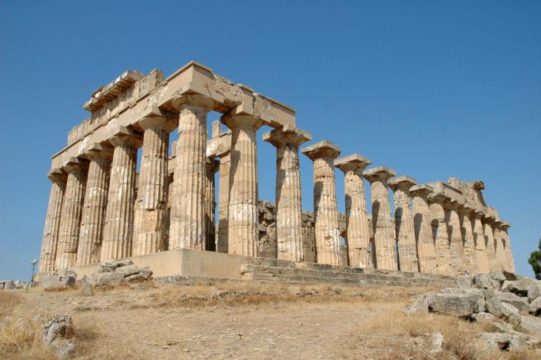 Храм E («Храм Геры») в Селинунте (др.-греч. Σελινοΰς, итал. Selinunte)