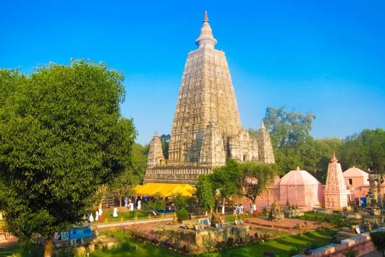Храм Махабодхи в Бодхгае