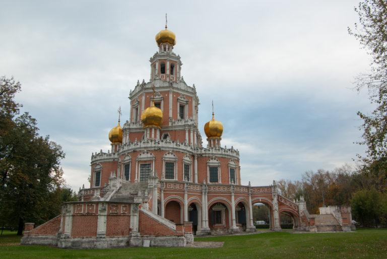 Храм Покрова Пресвятой Богородицы в Филях. 1690-1694