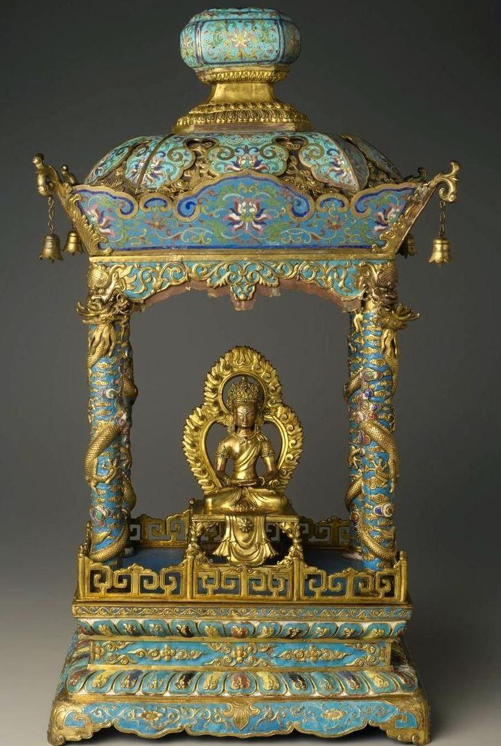 Храм с бодхистаттвой