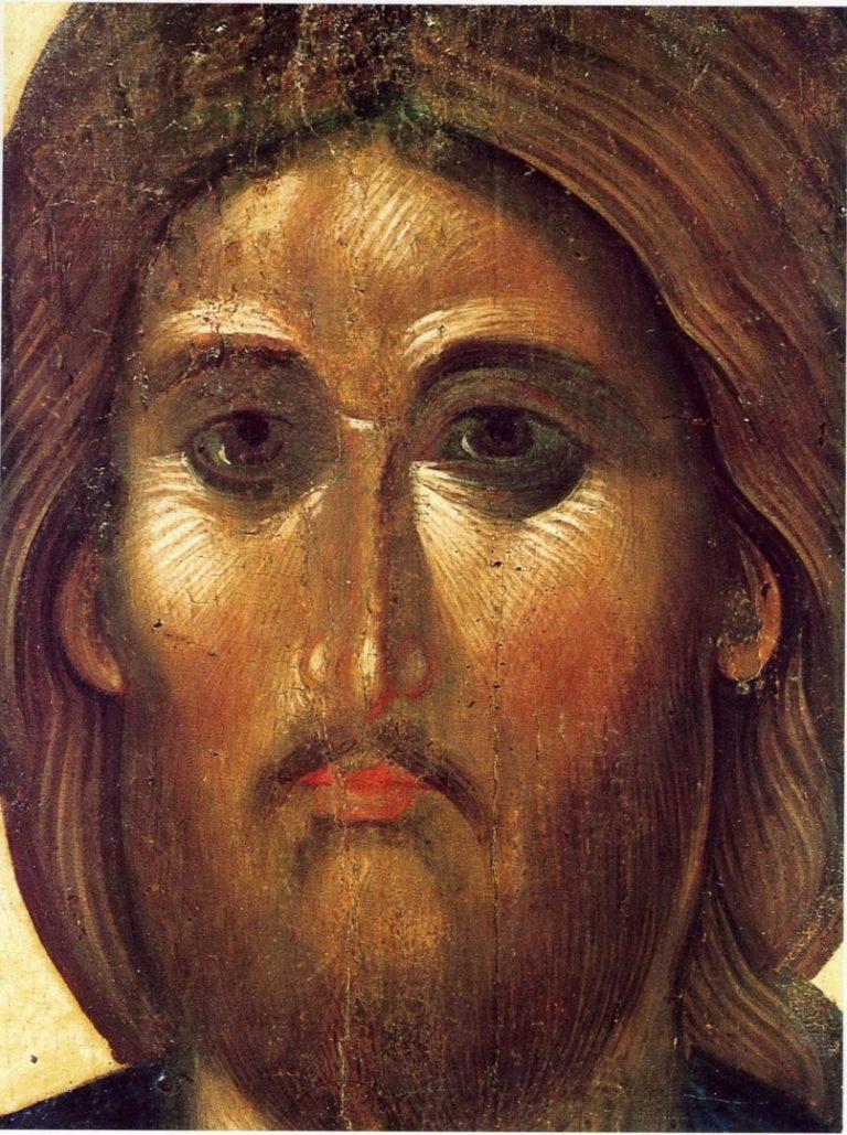 Христос Пантократор. Лик. Середина XIV в.