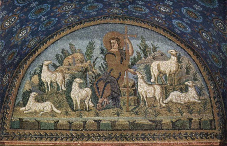 Христос-пастырь