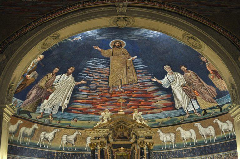 Христос-триумфатор. VI в.