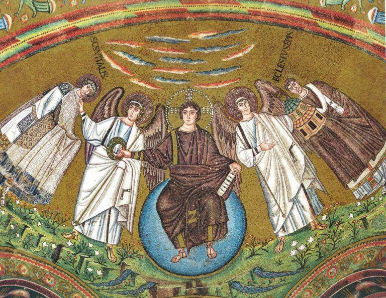Христос вручает венец св. Виталию