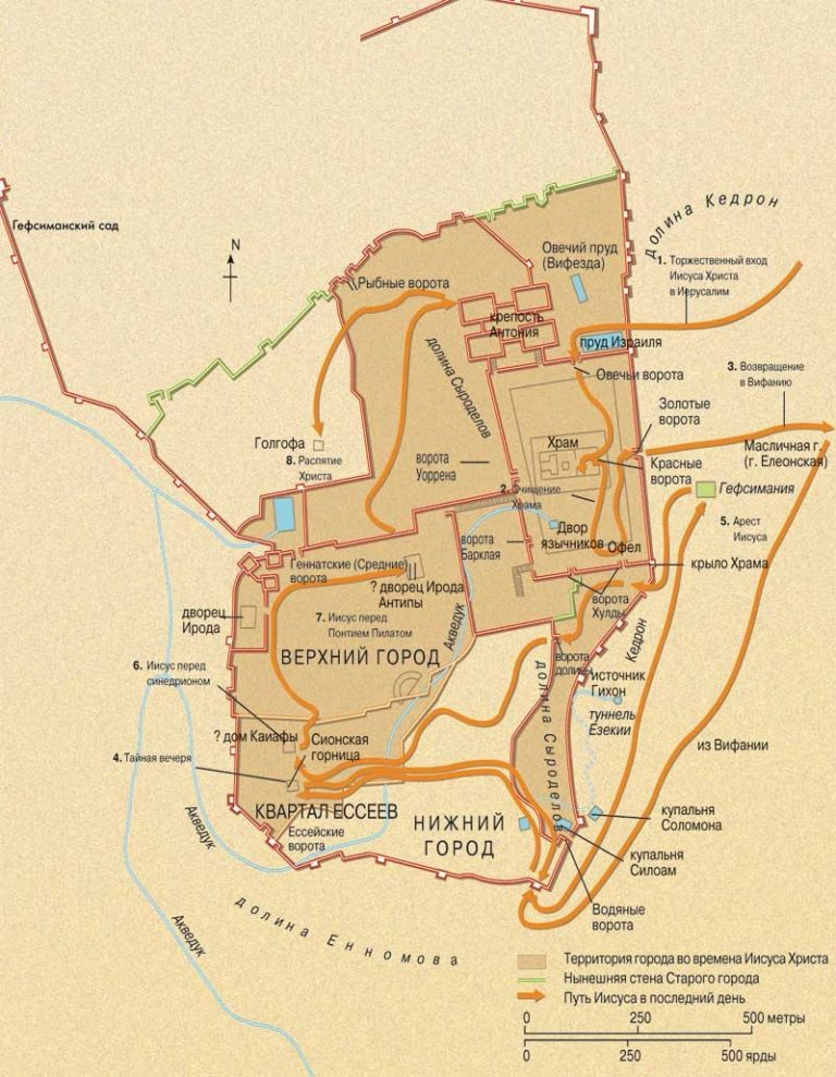Иерусалим в I в. н.э.