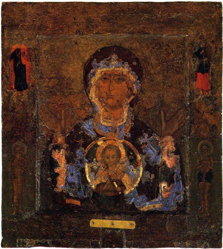 Икона Зна́мение. XII в.