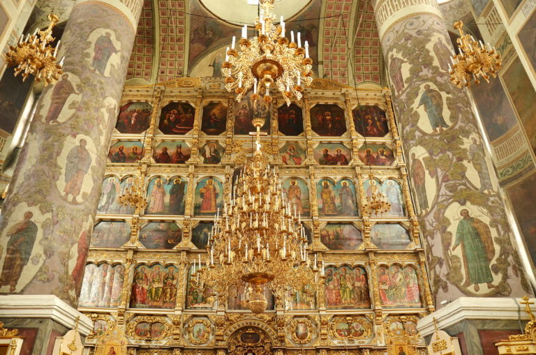 Иконостас Большого собора Донского монастыря, Москва