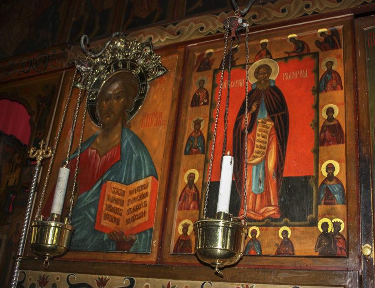 Иконостас Свято-Сергиевского подворья