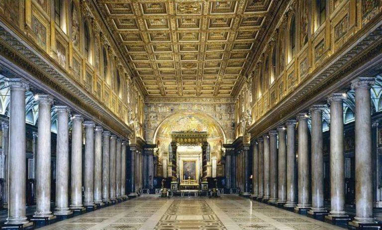 Интерьер базилики Санта Мария Маджоре, Рим