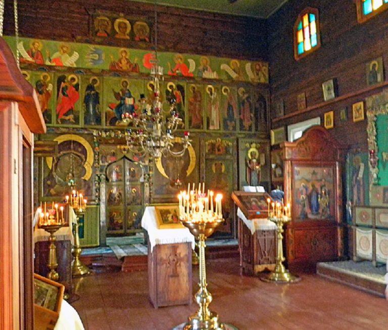 Интерьер церкви Параскевы Пятницы