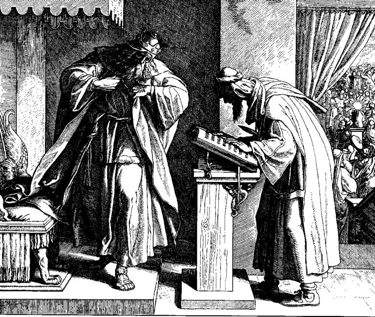 Иосия слушает слова Торы. 1860