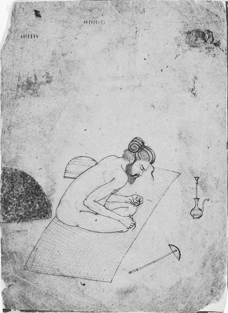 Йогин в глубокой медитации. 1640