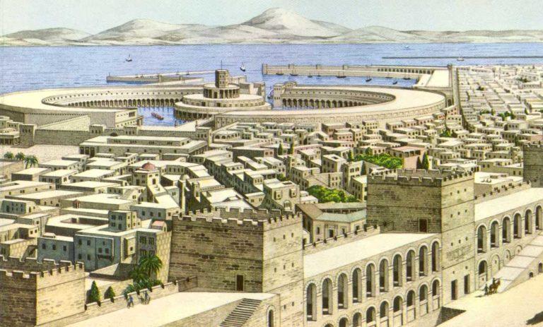 Древний Карфаген (финик. Qart Hadasht, лат. Carthago, др.-греч. Καρχηδών)