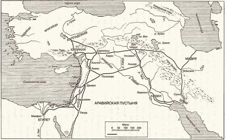 Карта торговых путей