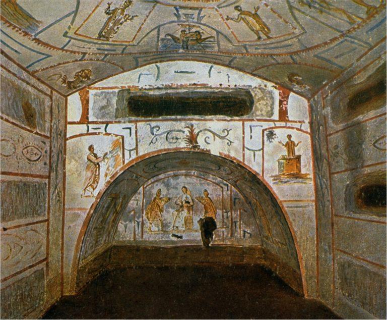 Катакомбы Петра и Марцеллина, Рим