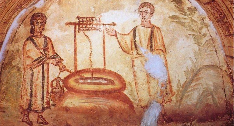 Катакомбы на Виа Латина. IV в., Рим