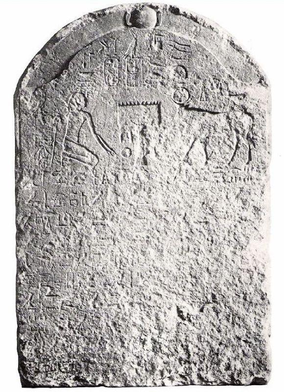 Коленопреклонение Камбиза перед священным тельцом Аписом