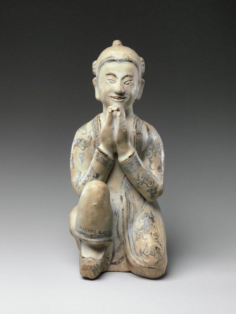 Коленопреклоненная фигура. Тайланд, XV–XVI вв.