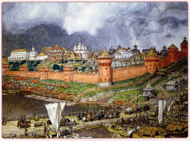 Кремль времени Ивана III. 1921