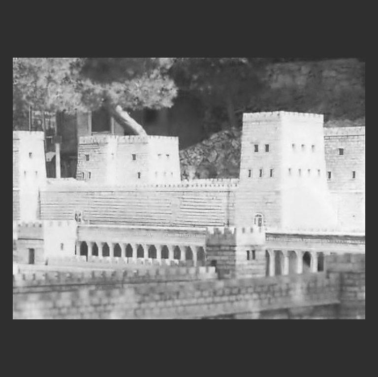 Крепость Антония сооруженная Иродом в 31 г. до н.э.