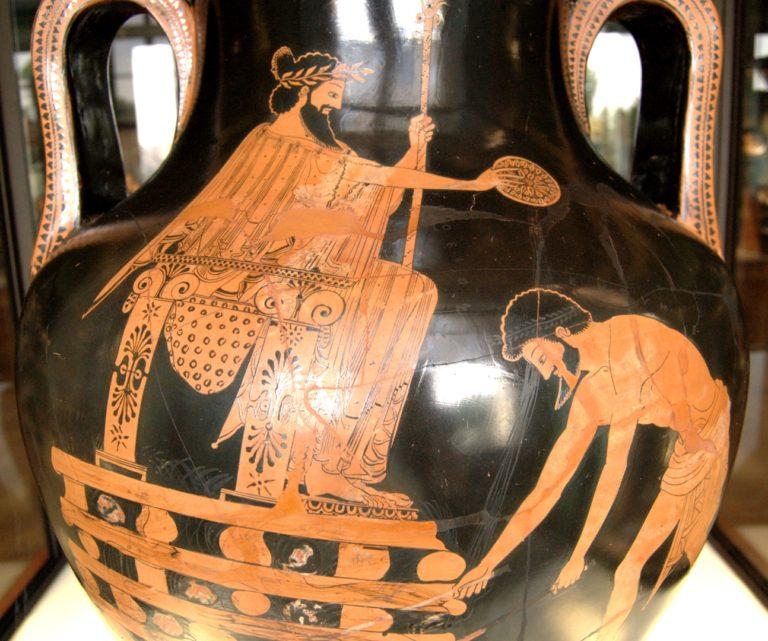 Крез (др.-греч. Κροίσος, 595—546 гг. до н.э.) на костре