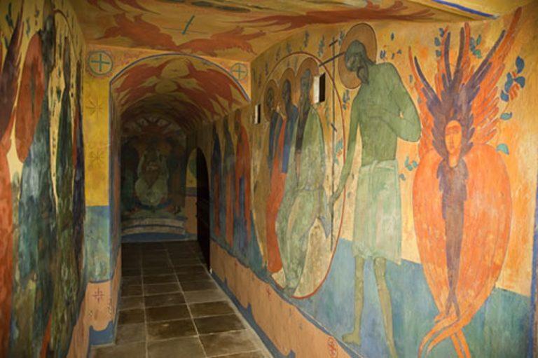 Крипта-усыпальница Покровского собора Марфо-Мариинской обители