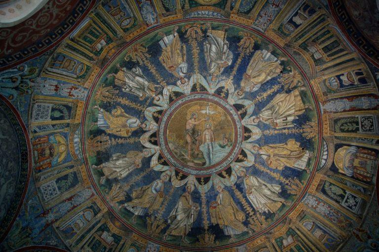 Купол баптистерия православных. Рубеж IV – V вв. Равенна