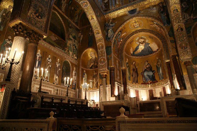 Латинская капелла – Cappella Palatina. 1140-1170 гг.
